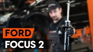 Como substituir amortecedor dianteiros no FORD FOCUS 2 (DA) [TUTORIAL AUTODOC]