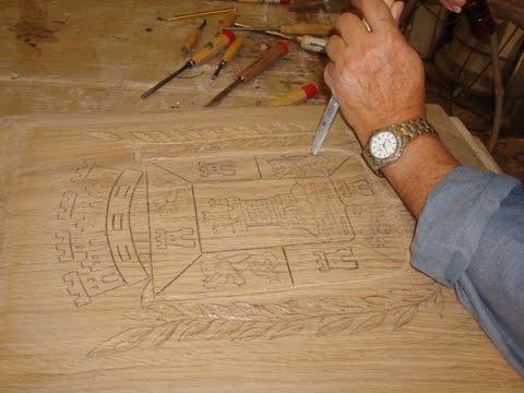 como tallar madera a mano youtube