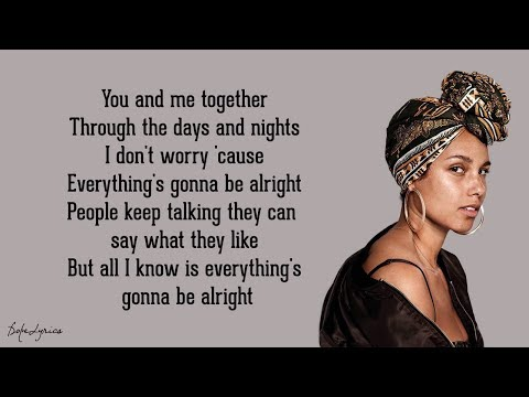 No One - Alicia Keys (Lyrics)
