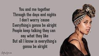 Download No One - Alicia Keys (Lyrics) Mp3 and Videos