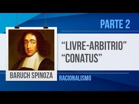 BARUCH SPINOZA(2) – LIVRE-ARBÍTRIO, CONATUS | FILOSOFIA