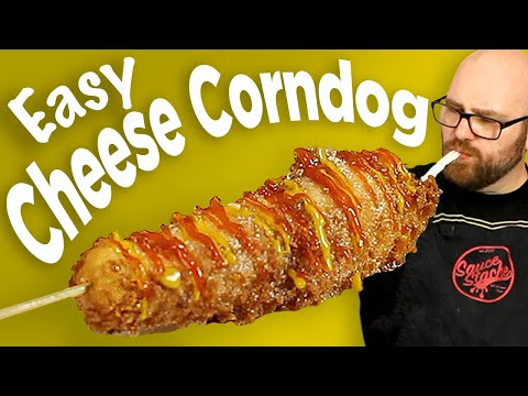 Cheese Corn Dog Recipe - The Korean Cheese Corn Dog