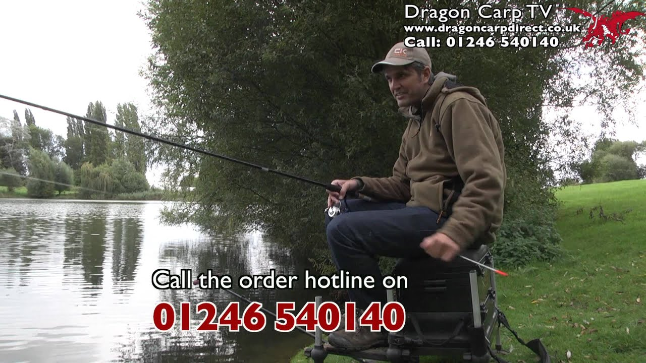 Avanti Isis Carbon Reactor 12ft Waggler Rod - YouTube
