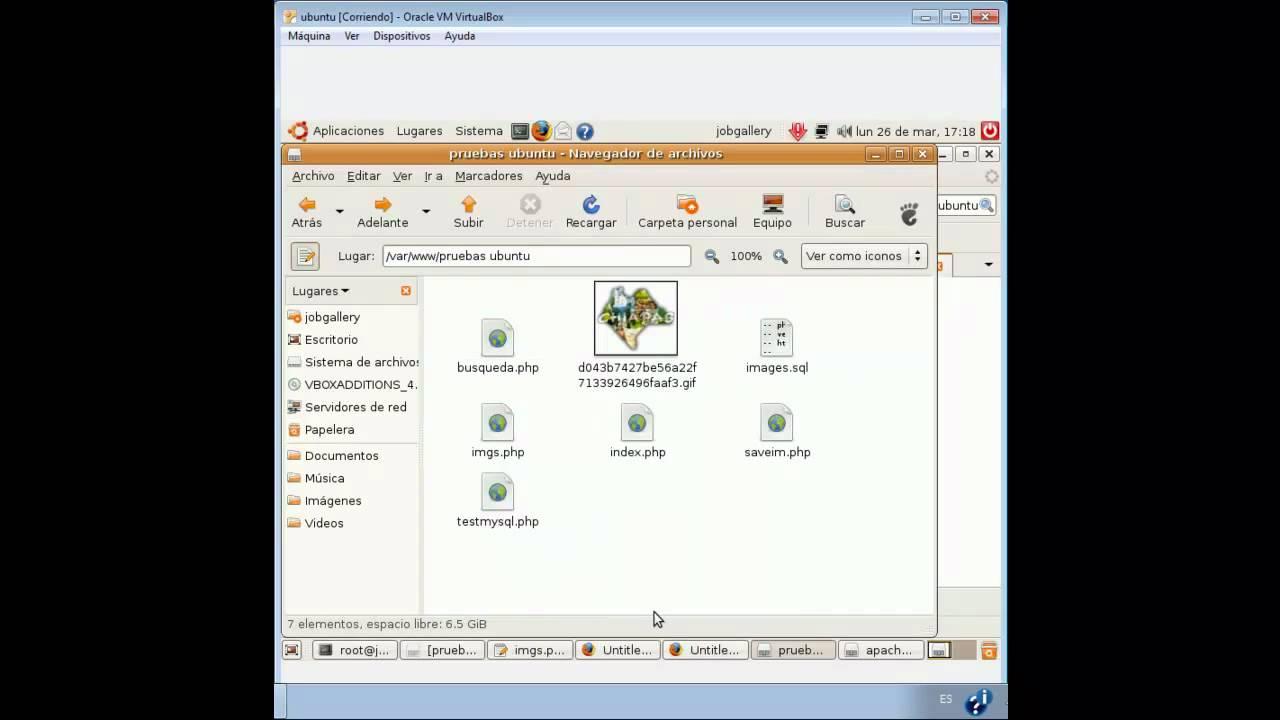 Configuracion de ubuntu y php.ini para subir fotos a servidor.