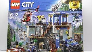 Обзор Конструктора LEGO City Штаб-квартира горной полиции из Rozetka