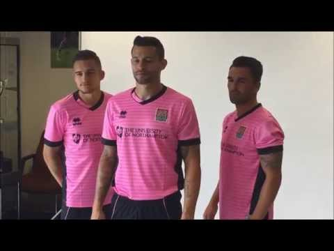 Behind the scenes at the 2015/16 kit photoshoot