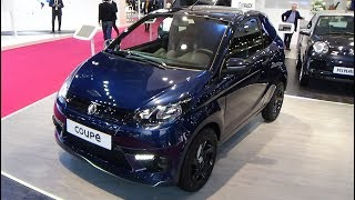 2019 Aixam Coupe - Exterior and Interior - Paris Auto Show 2018