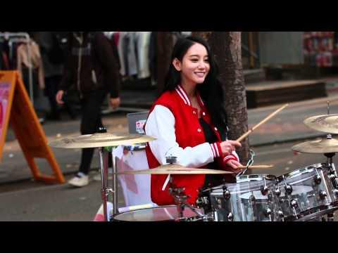 20141116 Bebop 비밥 Ayeon 아연 Playing Drums P.6