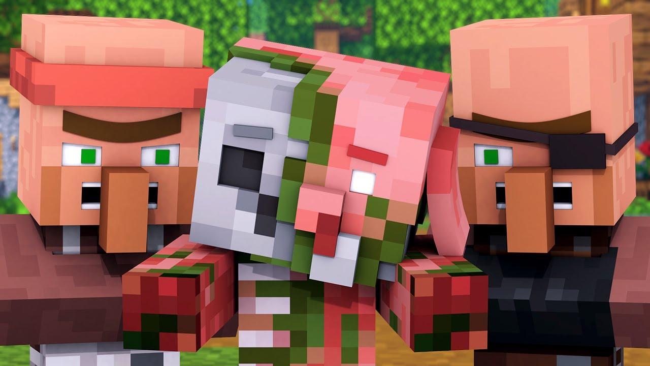 Zombified Piglin Life 3 - R.I.P Zombie Pigman Minecraft Animation