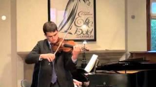William Hagen - Brahms Sonata #3 III. Un Poco Presto E Con Sentimento