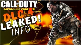 """DLC 4 """"Reckoning"""" Leaked Info - COD Advanced Warfare Multiplayer - New Zombie Map , Camos MORE"""