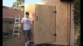 Buliding A 8X16 Storage Shed