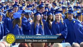 ABRHS Graduation Jun 3 2016