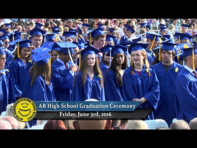 ABRHS Graduation Jun 3 2016