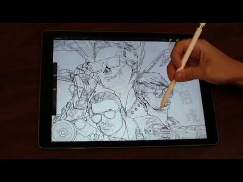 DZL - VIDEO: Muse album art was done using an iPad only