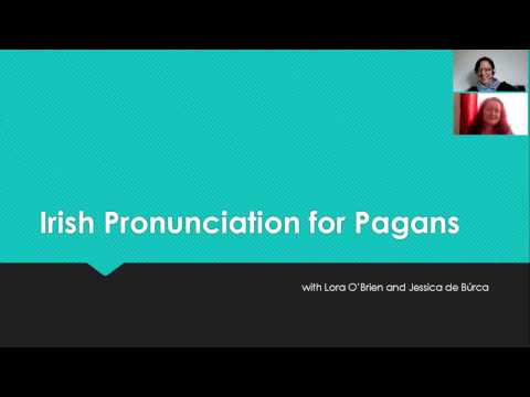 Irish Language Pronunciation for Pagans - 01