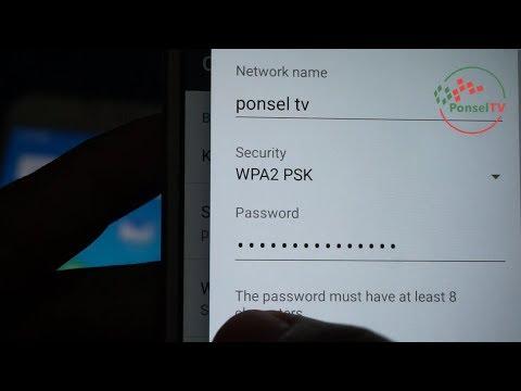 Cara Menggunakan Hp Android sebagai Wifi Hostpot - Merubah Smartphone Jadi Modem Internet