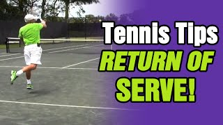 Return of Serve Tennis Tips by TomAveryTennis.com
