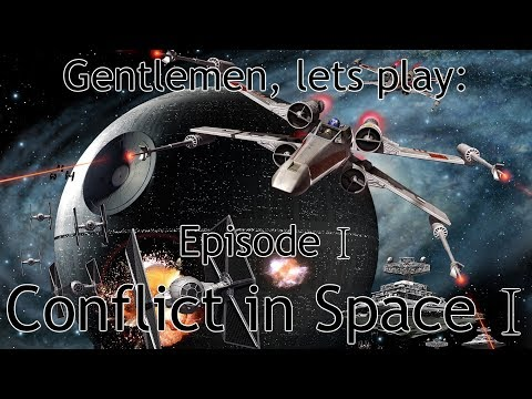 Gentlemen, lets play: the Conflict in Space mod
