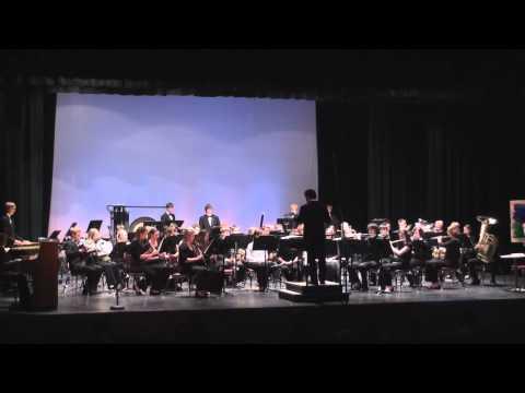 2011 - Cloud Burst  - Wind Ensemble - Arrowhead High School - Fall Concert