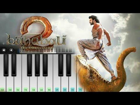 Bahubali theme bgm piano