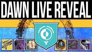 Destiny 2   NEW ACTIVITY! Dawn LIVE REVEAL! Sundial Gameplay, DLC End-Game, Artifact & NEW Loot!
