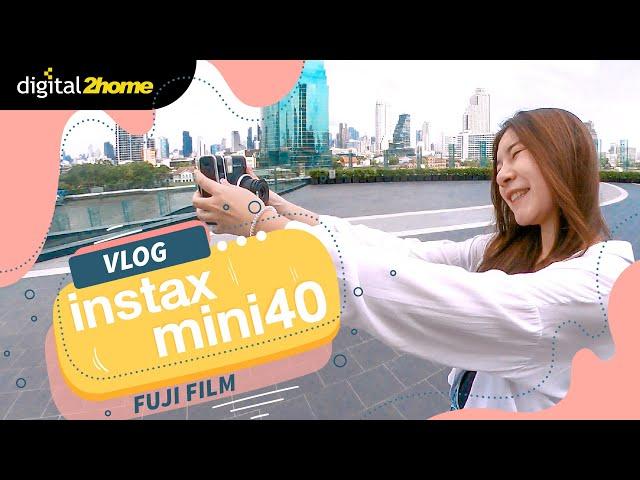 Vlog Fujifilm Instax Mini40 #instaxmini40 #fujifilm #instaxcamera