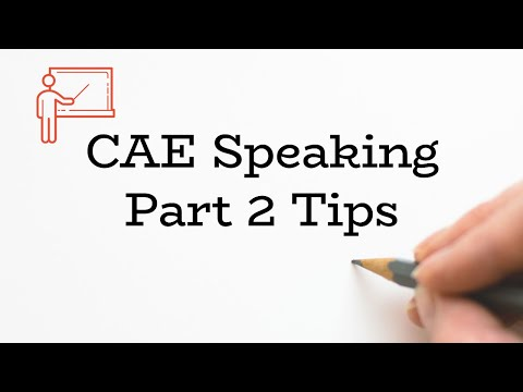 CAE Speaking Test Part 2 - A Teacher Shows the Way