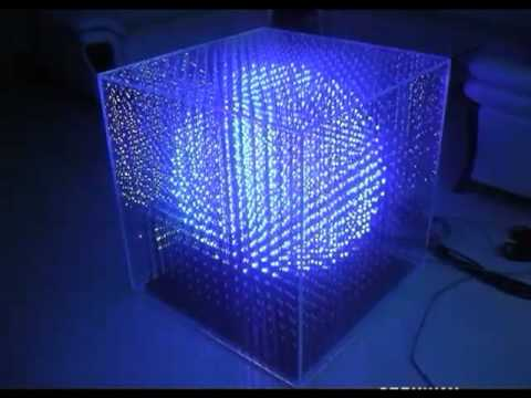 Night Works 3d Led Cube Youtube
