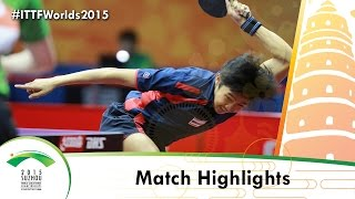 WTTC 2015 Highlights:MAGUIRE Gavin/ROBINSON Ashley vs PITAKGULSIRI Suchat/POUNGSRI Max (Qual Groups)