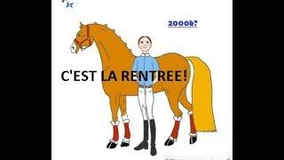 Equitation: Les affaires pour debuter!