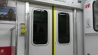 男鹿線 EV-E801系G1編成 EV-E801-1 ワンマン 普通 男鹿 行 走行音 脇本→羽立 2020.09.19