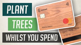 TreeCard 🌳💳 The Wooden Debit Card that Plants Trees for free as you Spend 🌿