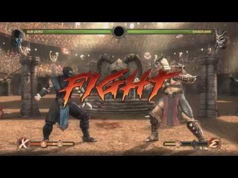 Mortal Kombat 9 PS3 Cheats ,Invincibility ,kill p2 any time, Infinite Xray