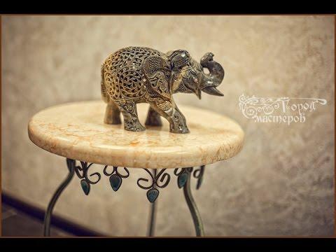 Декоративные красивые мраморные столики