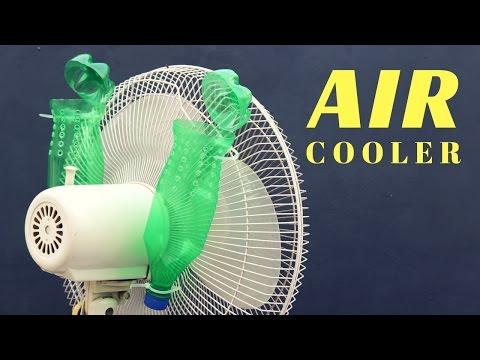 How to make Air Conditioner using Plastic Bottle | Homemade Idea