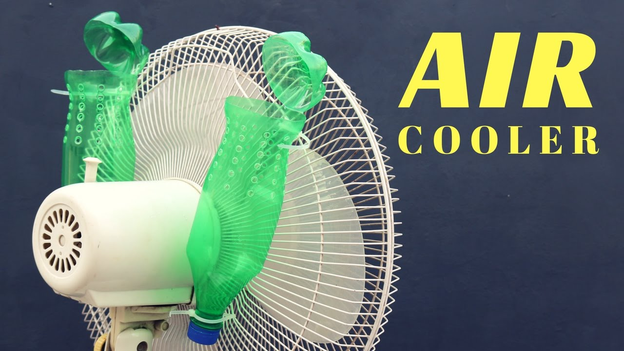 How To Make Air Conditioner Ac Homemade Idea Youtube