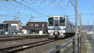 清音駅周辺を通過する213系【短編鉄道動画シリーズ①】