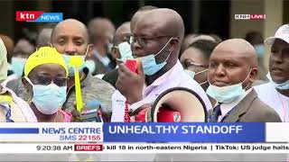 Unhealthy standoff:  KNH workers begin strike over their salary review