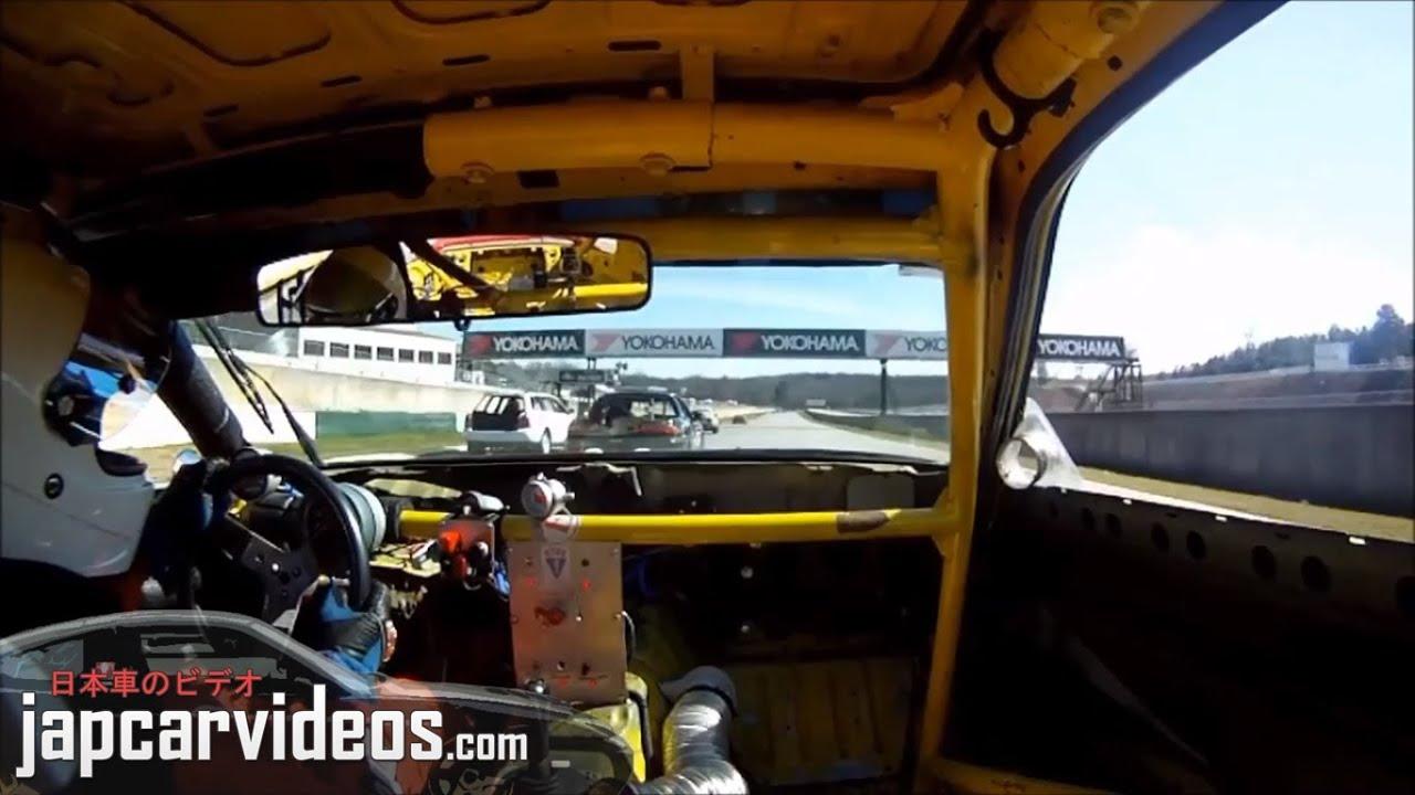 Mazda Fc Rx7 At Road Atlanta Onboard Chumpcar Rotary Racing Youtube