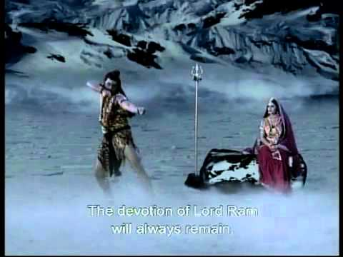 Shri Ram and Lord Shiva praising each other