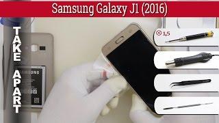 Як розібрати   Samsung Galaxy роз'єму J1 (2016) см-моделі j120 розібрати підручник