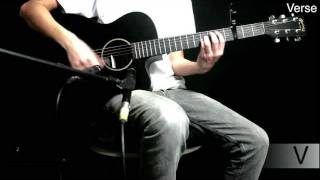 Mighty to Save - Hillsong United - Acoustic Guitar