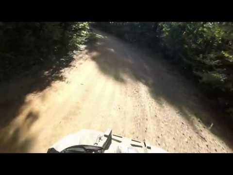 ATV Riding at Wolfpen Gap, Arkansas. Sep 2016. Scrambler 1000.