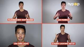Continuous Video Lighting Comparison