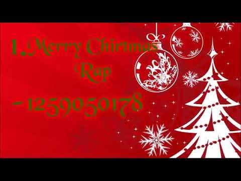 10 Christmas ID music codes Roblox - YouTube