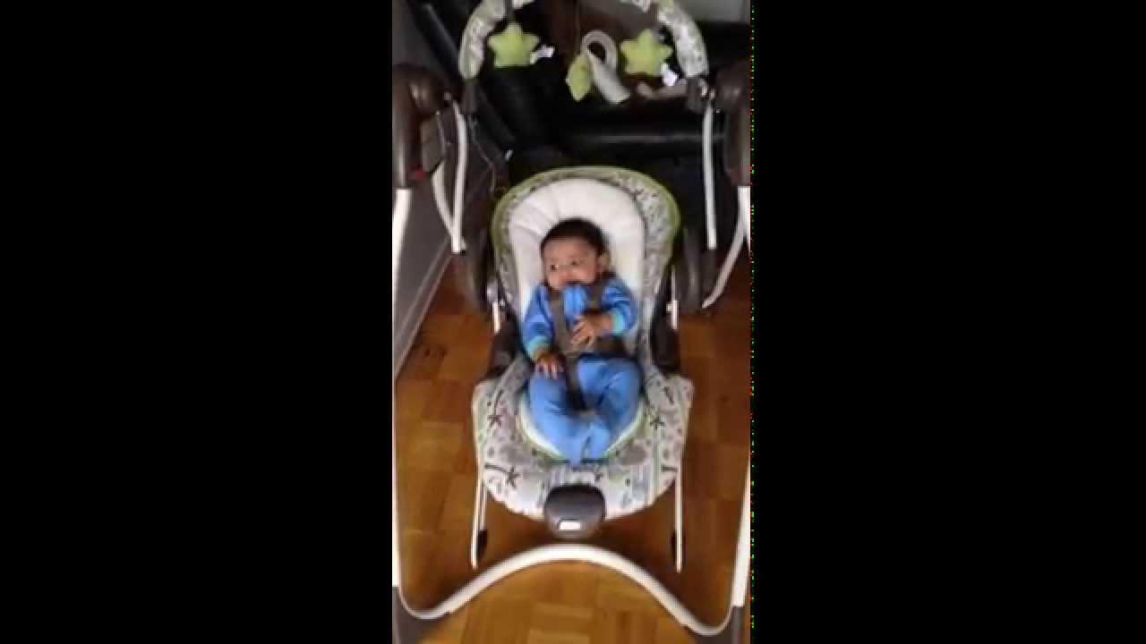 Graco Duo 2 In 1 Plug In Swing Bouncer Youtube