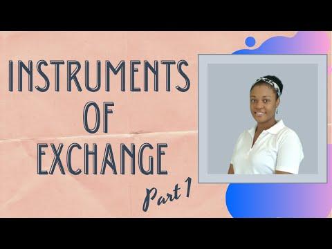 CSEC Principles of Business (NOB 4) - Instruments of Exchange Part 1