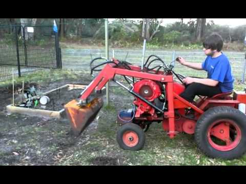 Homemade front end loader YouTube