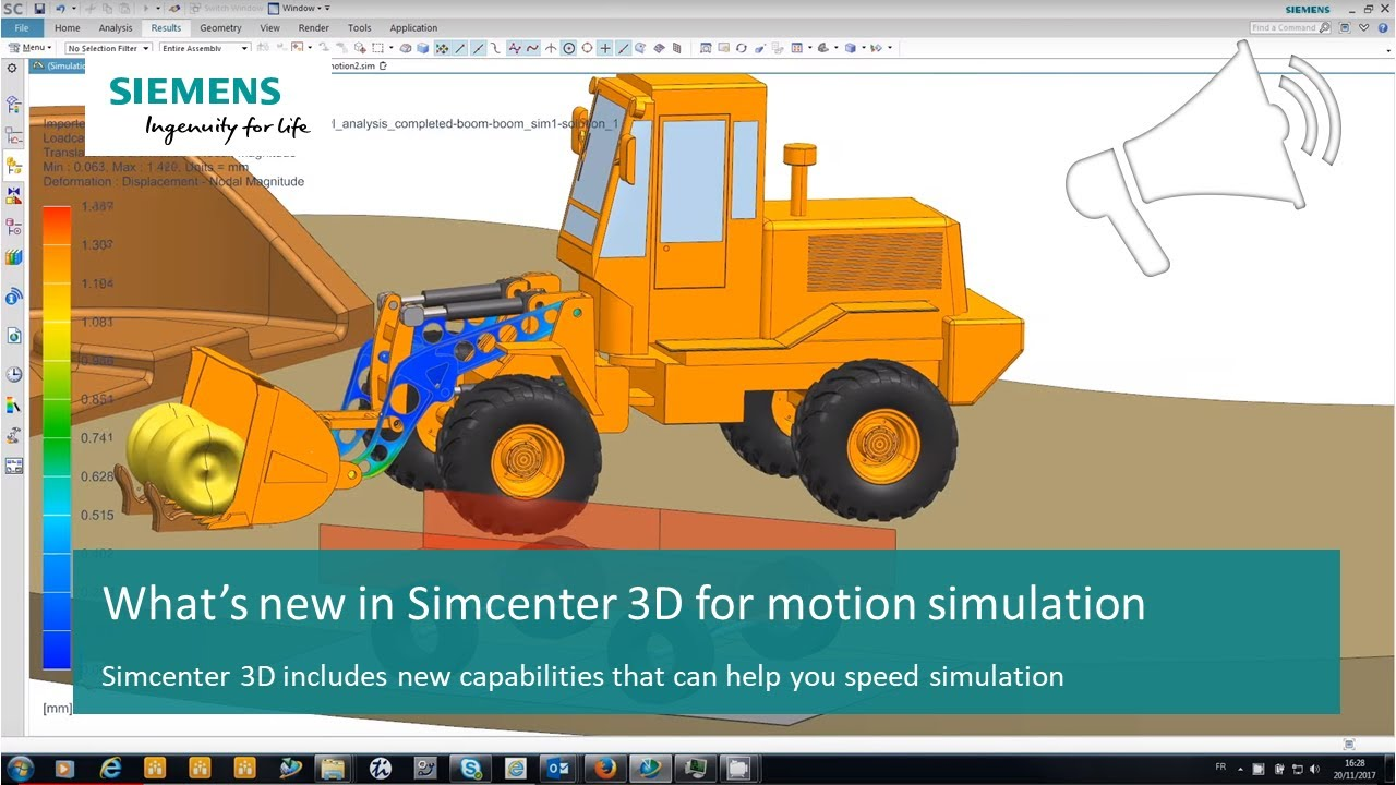 [WHAT'S NEW Simcenter 3D for Motion Simulation]